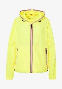 Hunter - WOMENS ORIGINAL SHELL JACKET - Waterproof jacket - yellow - 5