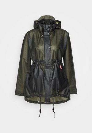 WOMENS ORIGINAL SMOCK - Waterproof jacket - dark olive