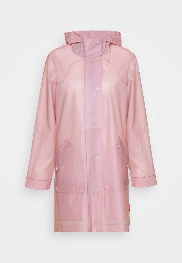 ORIGINAL VINYL HUNTING COAT - Waterproof jacket - powder purple