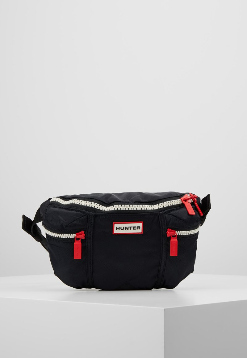 Hunter - ORIGINAL NYLON BUMBAG - Bum bag - black