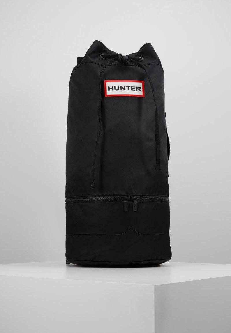 Hunter - ORIGINAL DUFFLE - Sac à dos - black