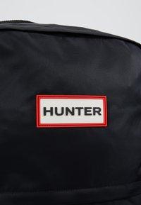 Hunter - ORIGINAL LARGE BACKPACK - Plecak - black - 7