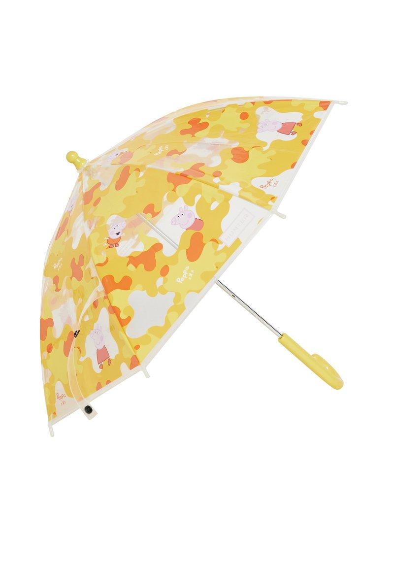 Hunter - KIDS PEPPA MUDDY PUDDLESBUBBLE UMBRELLA - Paraplu - wader yellow