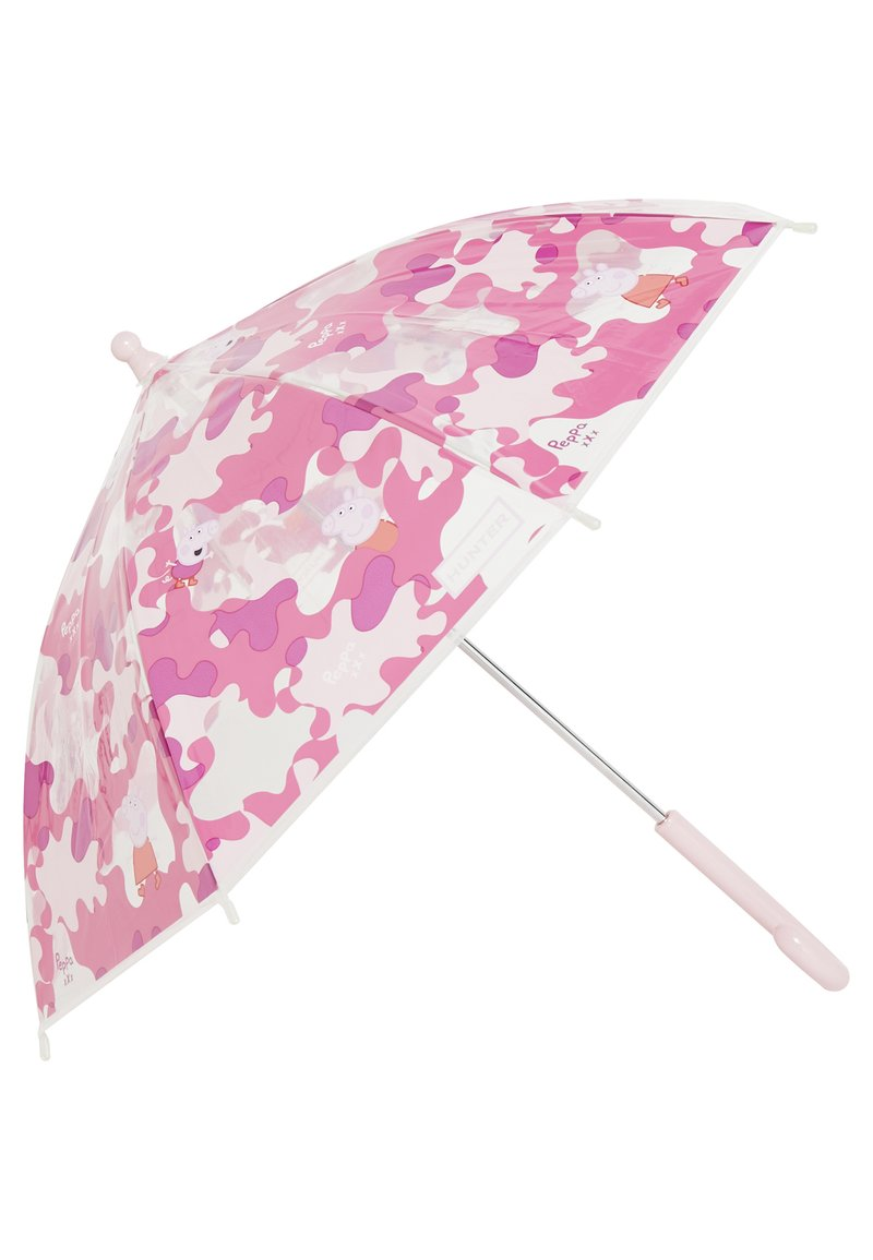 Hunter - KIDS PEPPA MUDDY PUDDLESBUBBLE UMBRELLA - Schirm - candy floss