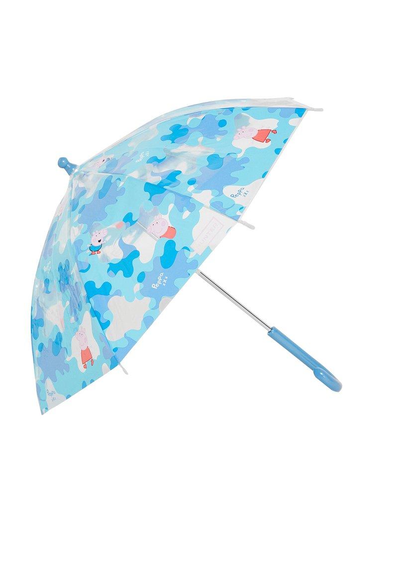 Hunter - KIDS PEPPA MUDDY PUDDLESBUBBLE UMBRELLA - Deštník - blue