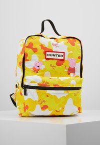 Hunter - KIDS PEPPA MUDDY PUDDLES BACKPACK - Zaino - wader yellow - 0
