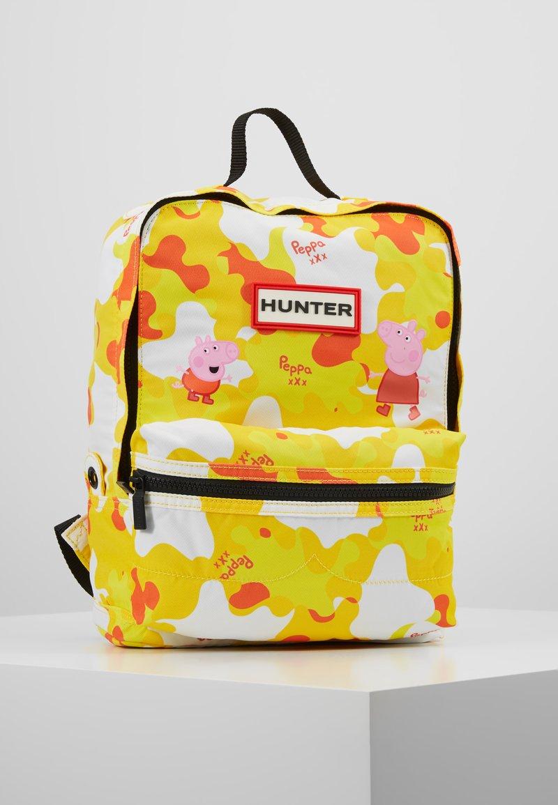 Hunter - KIDS PEPPA MUDDY PUDDLES BACKPACK - Zaino - wader yellow