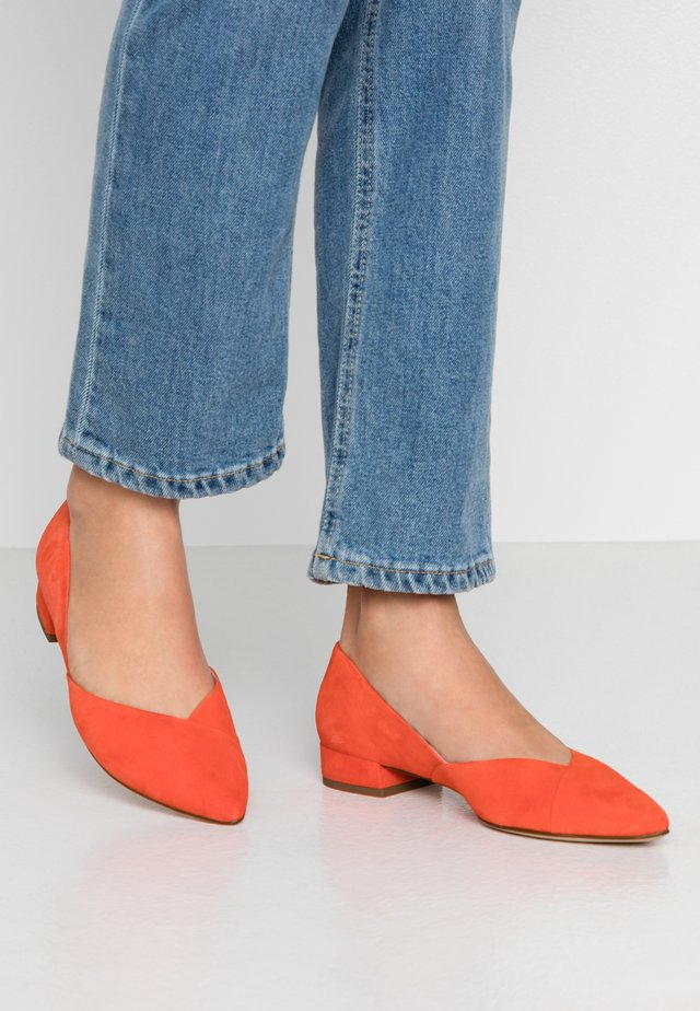 Ballet pumps - sunrise