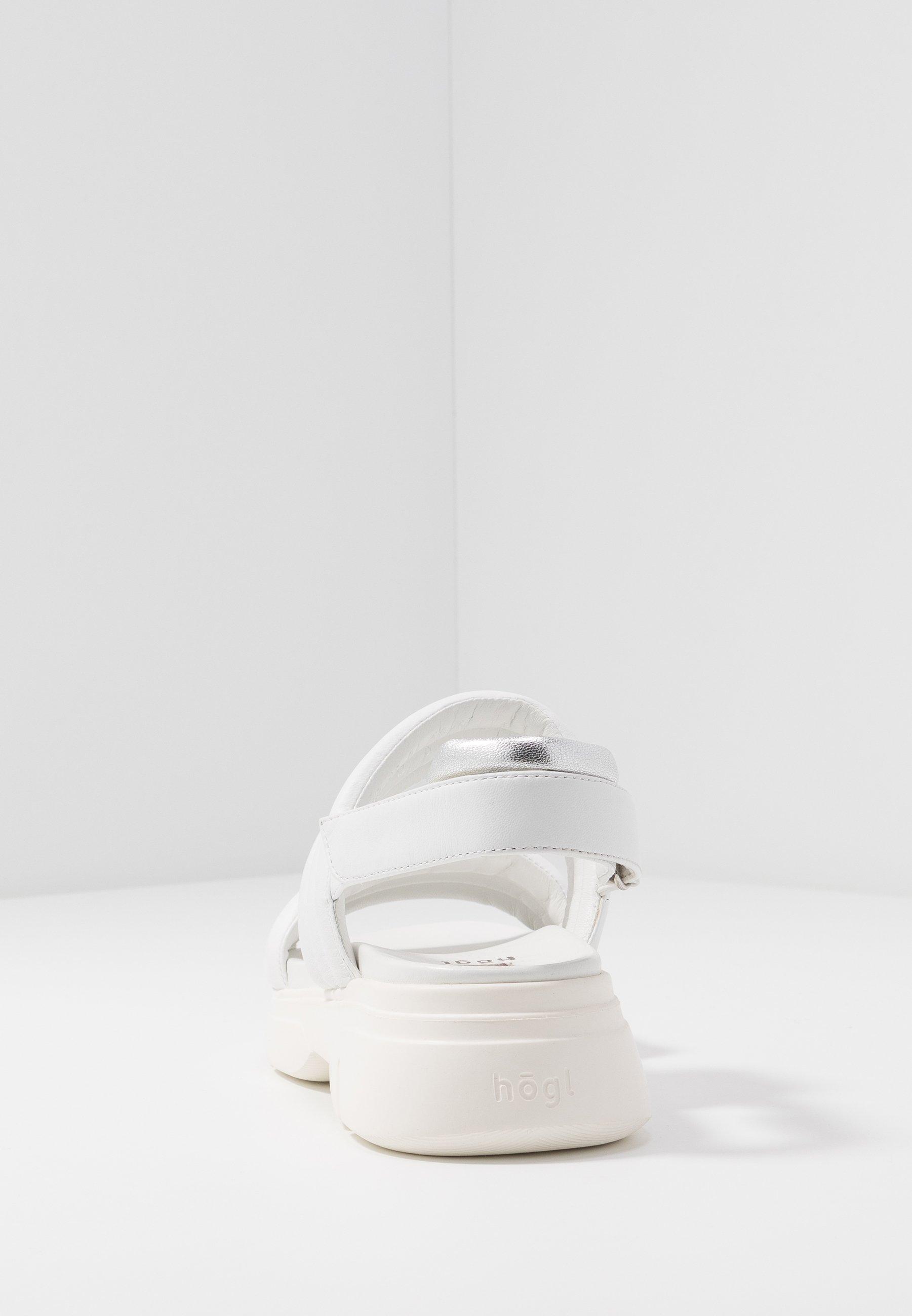 Högl Platåsandaler - Weiß