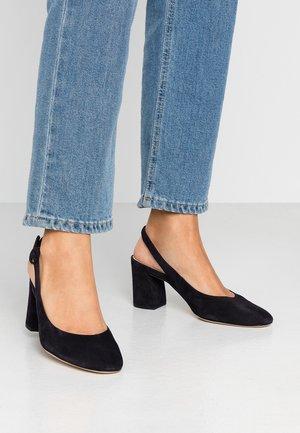 Classic heels - ocean