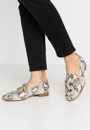 Loafers - multicolor/salvia