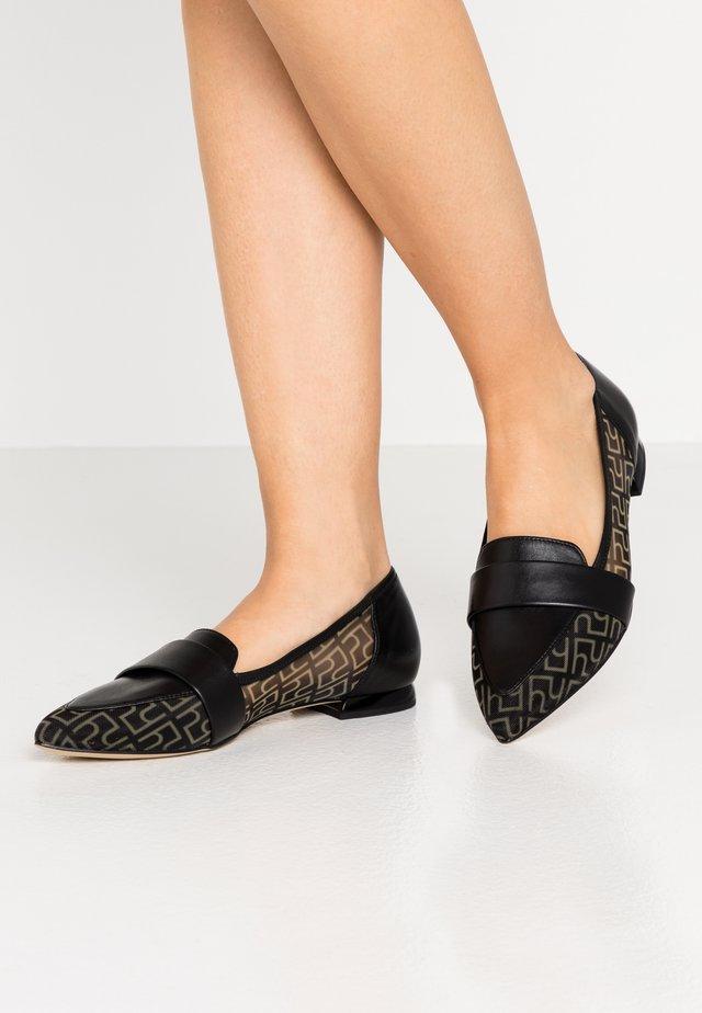 AMBER - Slippers - schwarz
