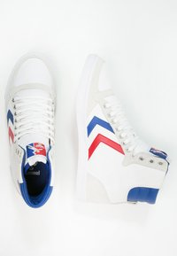 Hummel - SLIMMER STADIL - High-top trainers - white/blue/red - 1