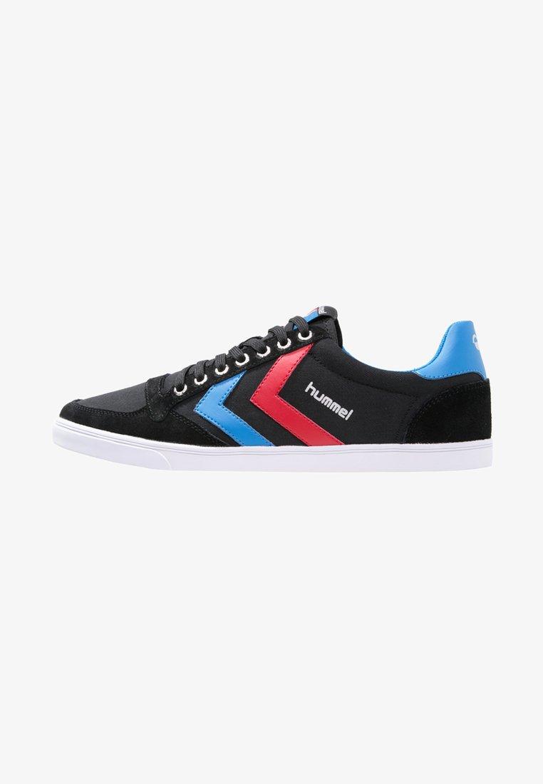 Hummel - SLIMMER STADIL - Trainers - black/blue/red