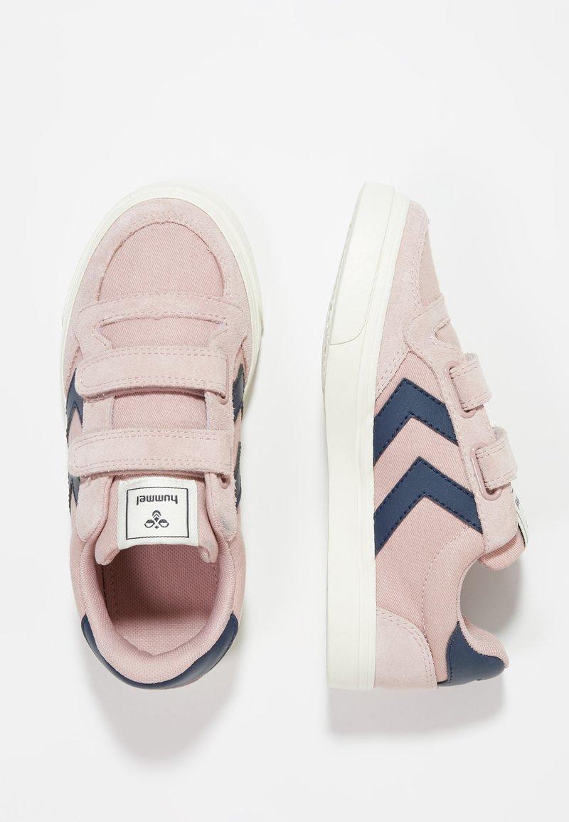 Hummel - STADIL LOW JR - Sneakers - pale mauve