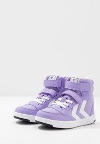 Hummel - STADIL - Zapatillas altas - violet tulip - 3