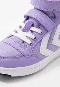 Hummel - STADIL - Zapatillas altas - violet tulip - 2