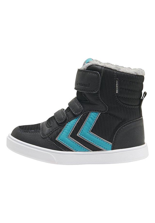 STADIL  - Sneakersy niskie - black/lake blue
