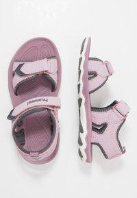 Hummel - SPORT - Walking sandals - mauve/shadow - 0