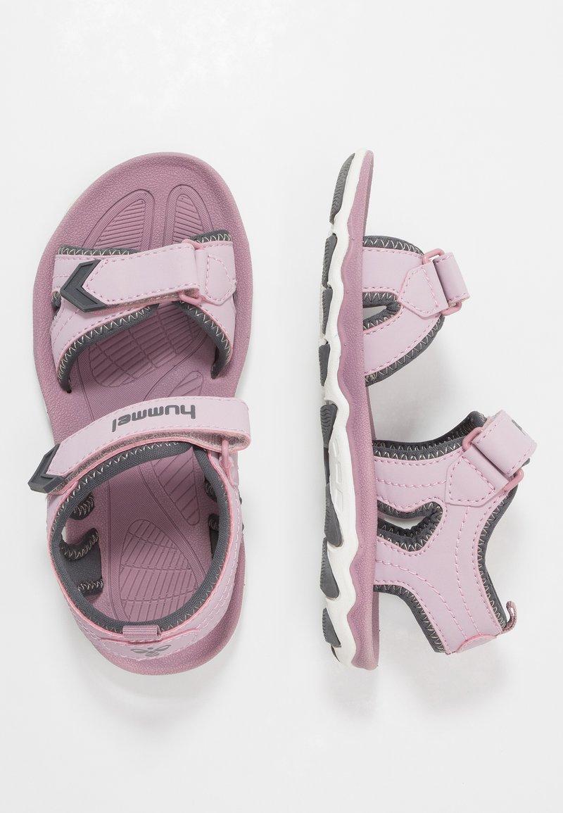 Hummel - SPORT - Walking sandals - mauve/shadow
