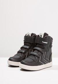 Hummel - STADIL SUPER - Sneakers alte - black - 3