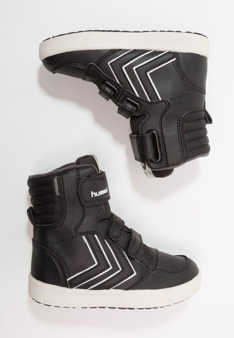 Hummel - STADIL SUPER - Sneakers alte - black