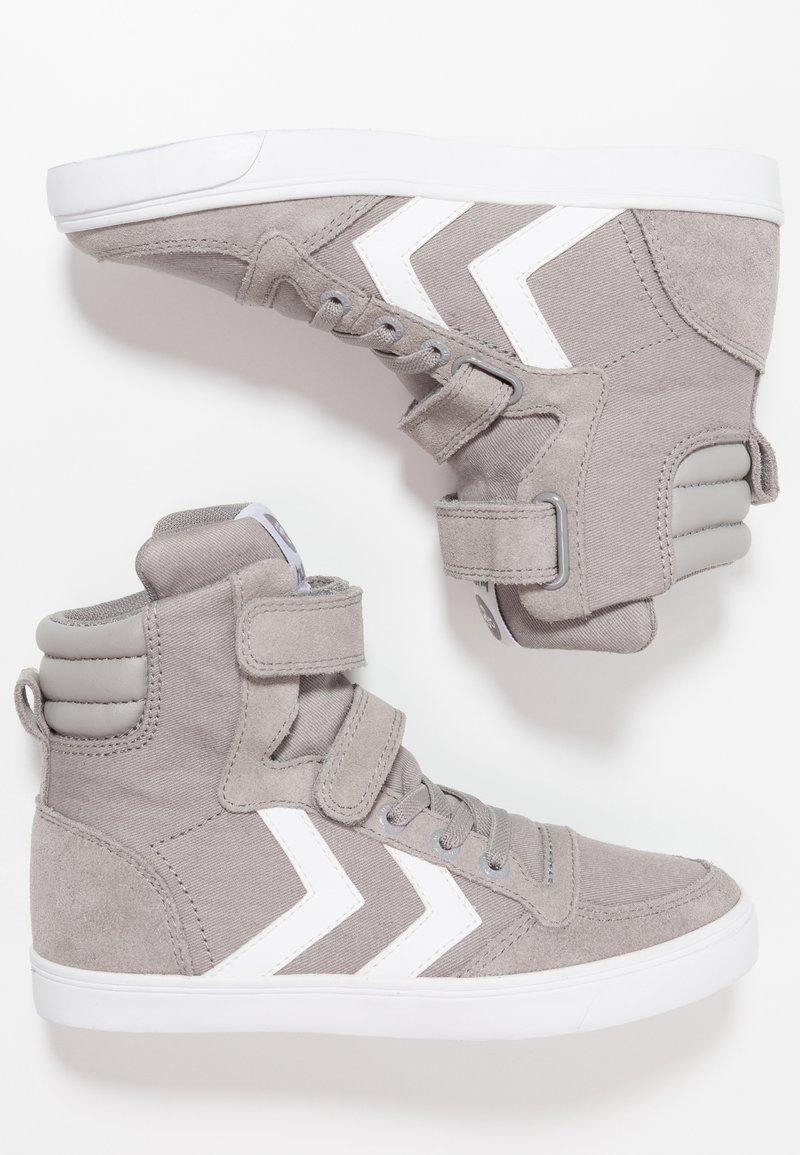 Hummel - SLIMMER STADIL - Zapatillas altas - frost grey
