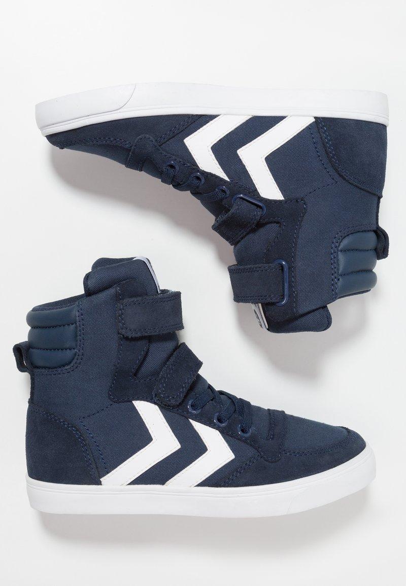 Hummel - SLIMMER STADIL - High-top trainers - dress blue