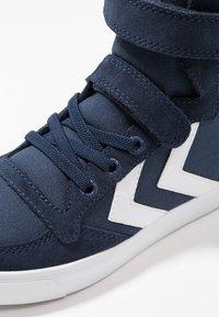 Hummel - SLIMMER STADIL - Zapatillas altas - dress blue - 2