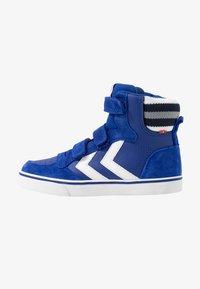 Hummel - STADIL PRO - Zapatillas altas - mazarine blue - 1