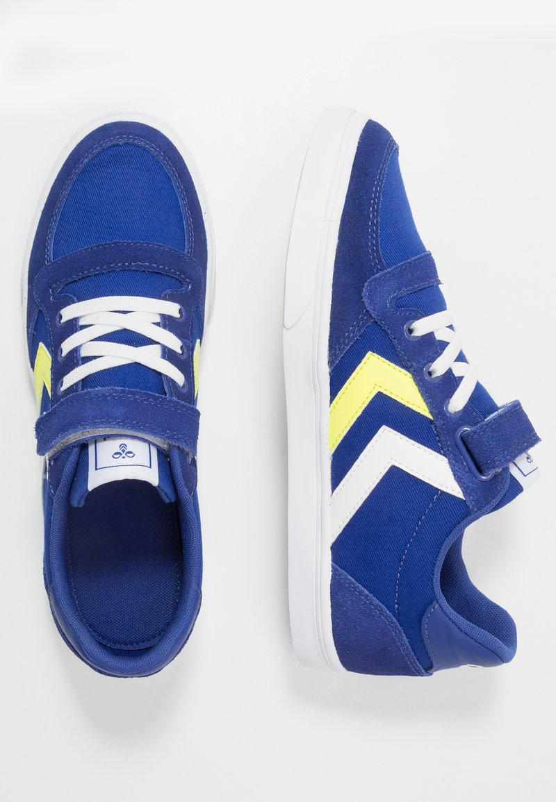 Hummel - SLIMMER STADIL - Trainers - mazarine blue