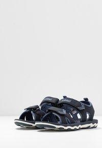 Hummel - SPORT - Walking sandals - blue nights - 3