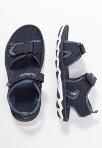 Hummel - SPORT - Walking sandals - blue nights - 0