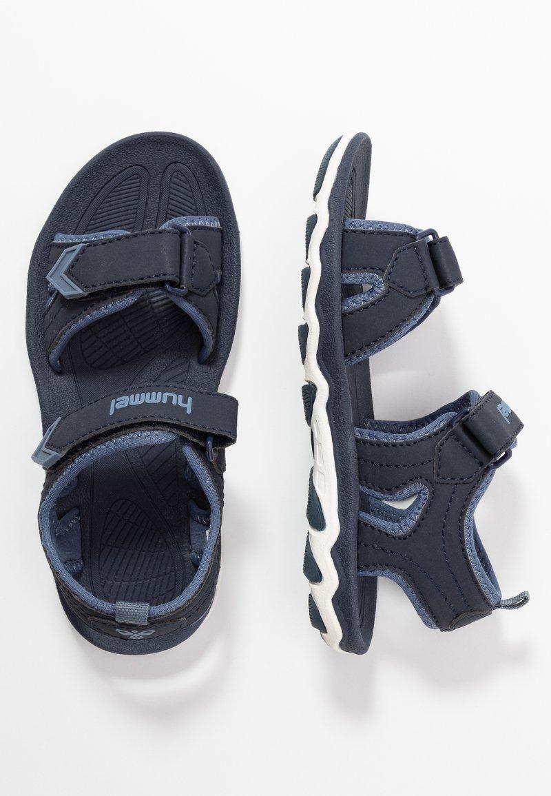 Hummel - SPORT - Walking sandals - blue nights