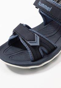 Hummel - SPORT - Walking sandals - blue nights - 2