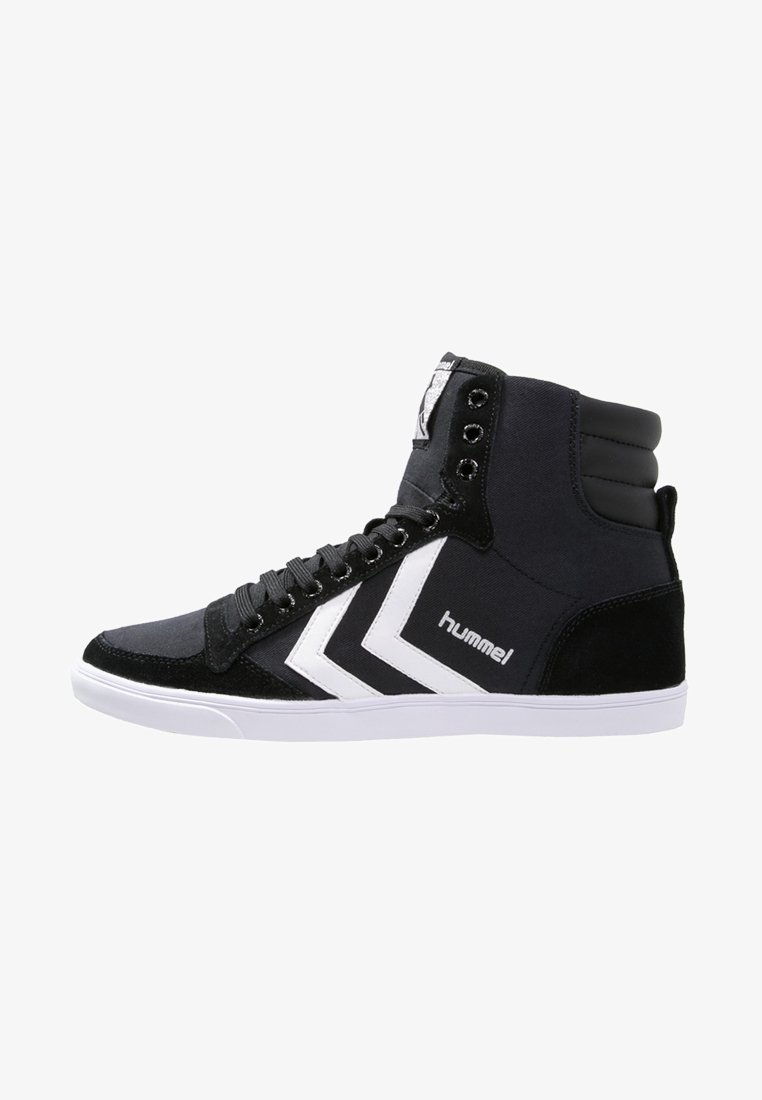 Hummel - SLIMMER STADIL - Zapatillas altas - black/white