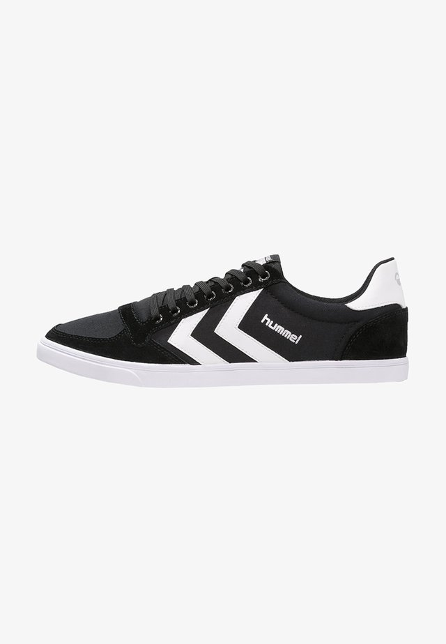 SLIMMER STADIL - Trainers - black/white