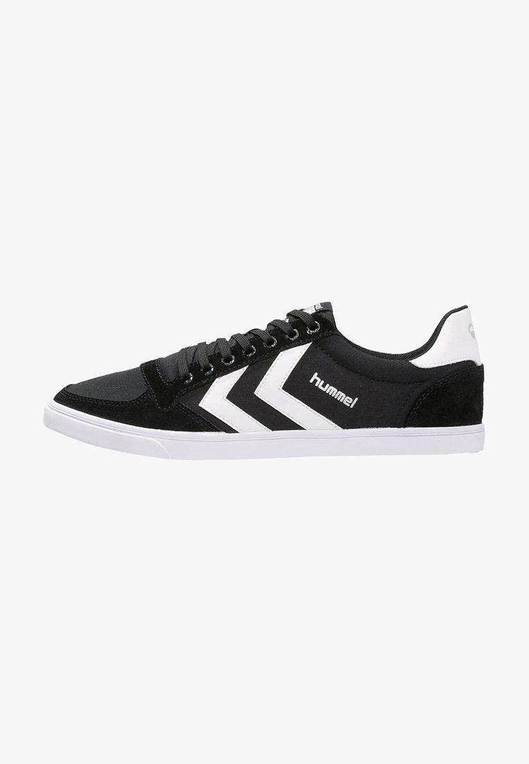 Hummel - SLIMMER STADIL - Sneakers basse - black/white