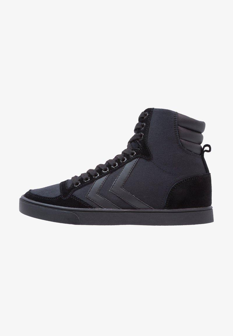 Hummel - SLIMMER STADIL TONAL HIGH - Sneaker high - black
