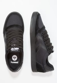 Hummel - SLIMMER STADIL TONAL LOW - Zapatillas - black - 1