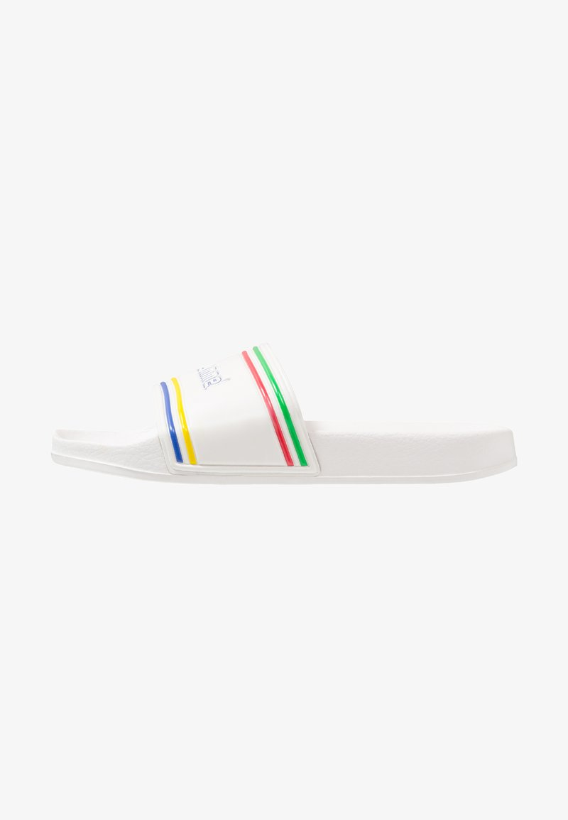 Hummel - POOL SLIDE RETRO - Pantolette flach - white