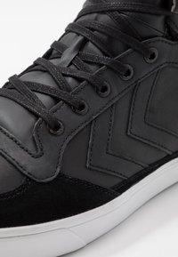 Hummel - STADIL WINTER - Zapatillas altas - black - 5