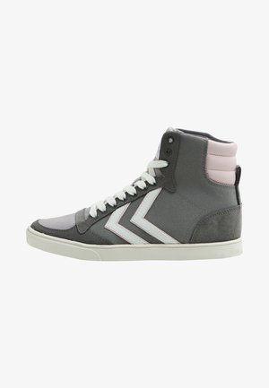 High-top trainers - anthracite