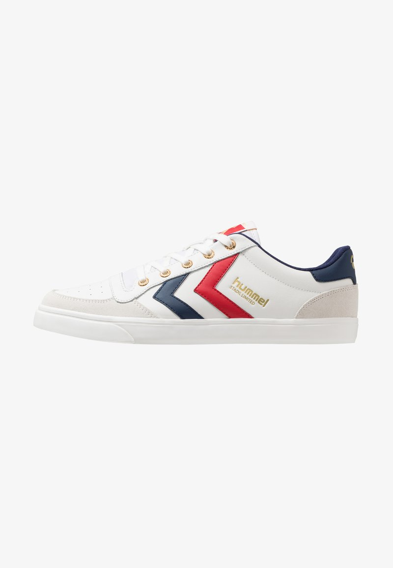 Hummel - STADIL LIMITED - Sneaker low - white/blue