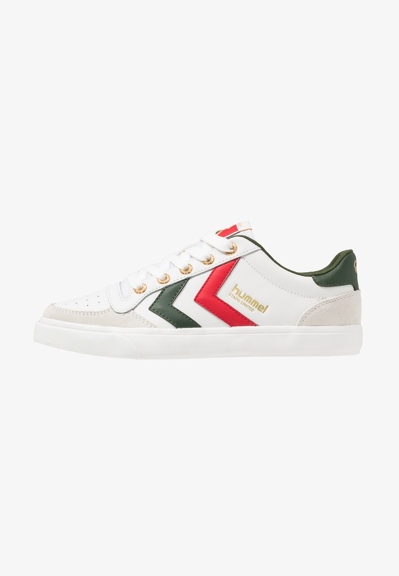 Hummel - STADIL LIMITED - Trainers - white/green