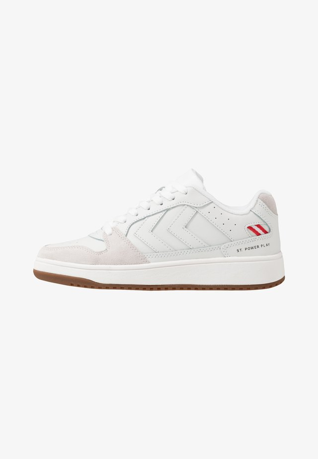 ST. POWER PLAY - Sneaker low - marshmallow