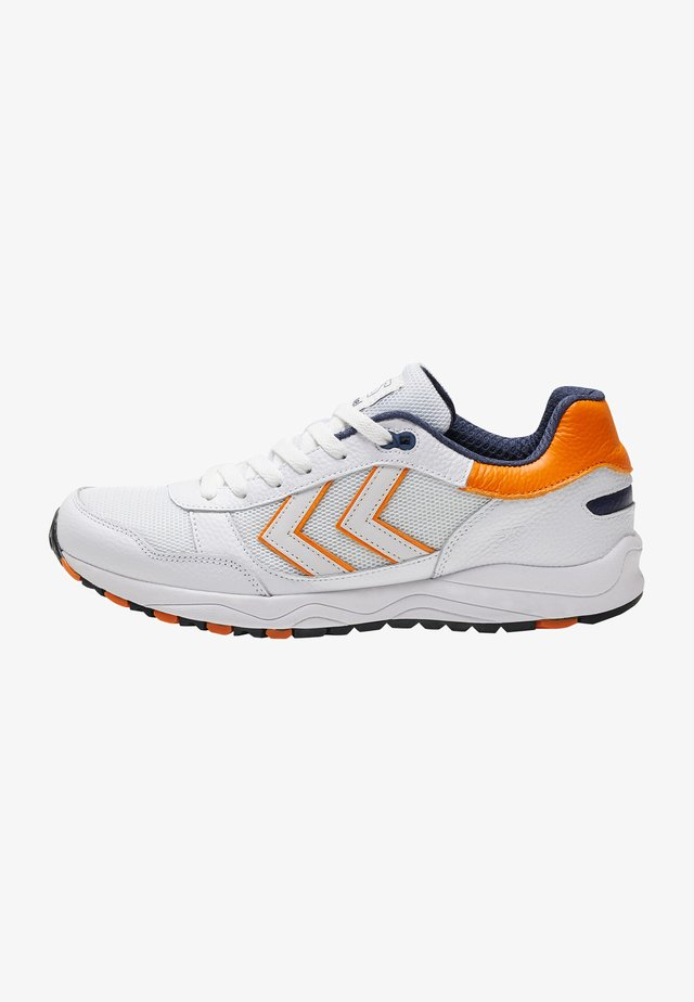 Sneakersy niskie - white/orange