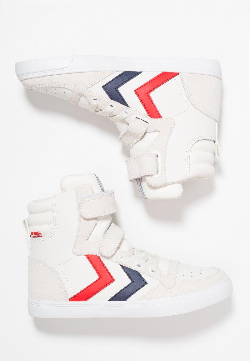 Hummel - SLIMMER STADIL - Zapatillas altas - white