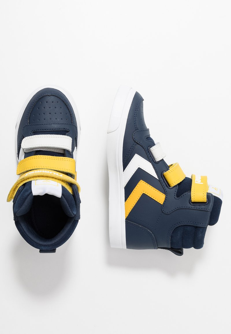 Hummel - STADIL PRO - High-top trainers - black iris/sulphur