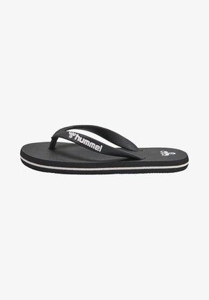 Sandaler m/ tåsplit - black